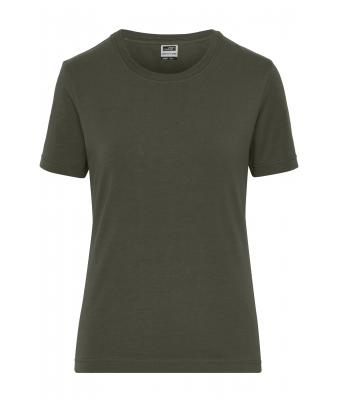 Damen Ladies' BIO Stretch-T Work - SOLID - Olive 8707