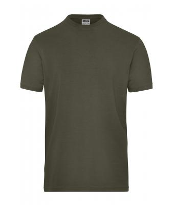 Herren Men's BIO Stretch-T Work - SOLID - Olive 8708