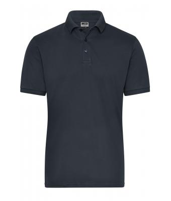 Herren Men's BIO Stretch-Polo Work - SOLID - Carbon 8703