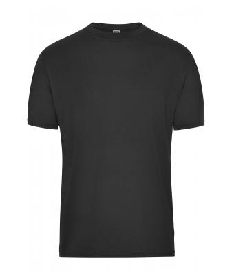 Herren Men's BIO Workwear T-Shirt - SOLID - Black 8732