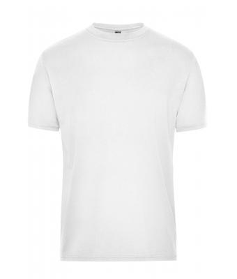 Herren Men's BIO Workwear T-Shirt - SOLID - White 8732