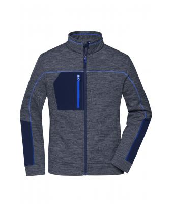 Ladies Ladies' Structure Fleece Jacket Navy-melange/navy/royal 10435