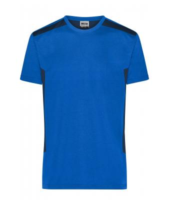 Men Men`s Workwear T-Shirt - STRONG - Royal/navy 10443