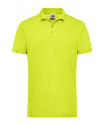 Men Men's Signal Workwear Polo Neon-yellow 10450