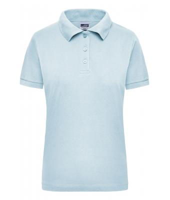 Damen Workwear Polo Women Light-blue 7537