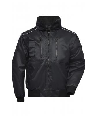 Unisex Pilot Jacket 3 in 1 Black 7546
