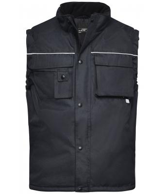 Unisex Workwear Vest Black 7547