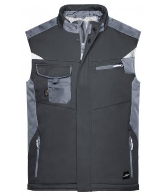 Unisex Craftsmen Softshell Vest - STRONG - Black/carbon 8166