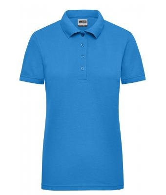 Damen Ladies' Workwear Polo Aqua 8170