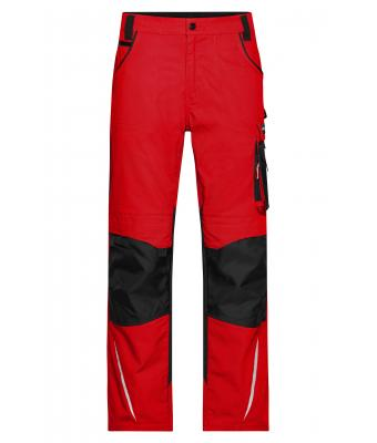 Unisex Workwear Pants - STRONG - Red/black 8290