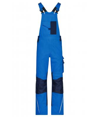 Unisex Workwear Pants with Bib - STRONG - Royal/navy 8288