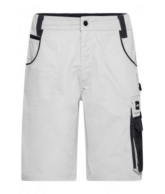 Unisex Workwear Bermudas - STRONG - White/carbon 8287