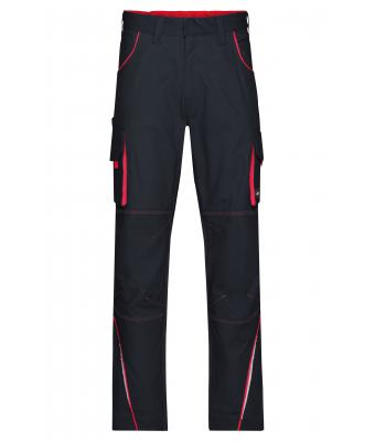 Unisex Workwear Pants - COLOR - Carbon/red 8524
