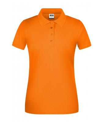 Damen Ladies' BIO Workwear Polo Orange 8681