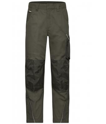 Unisex Workwear Pants - SOLID - Olive 8718