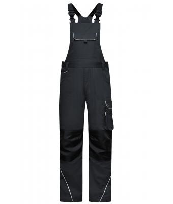 Unisex Workwear Pants with Bib - SOLID - Carbon 8719