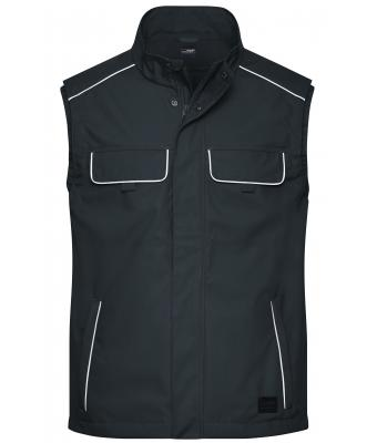 Unisex Workwear Softshell Light Vest - SOLID - Carbon 8721