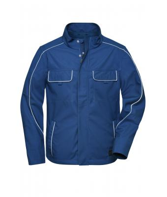 Unisex Workwear Softshell Light Jacket - SOLID - Dark-royal 8722
