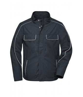 Unisex Workwear Softshell Light Jacket - SOLID - Carbon 8722