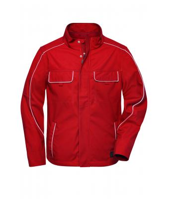 Unisex Workwear Softshell Light Jacket - SOLID - Red 8722