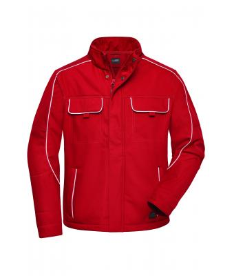 Unisex Workwear Softshell Jacket - SOLID - Red 8724
