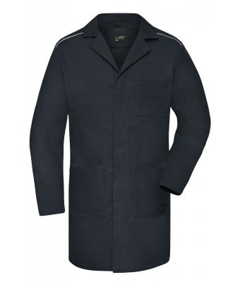 Unisex Work Coat - SOLID - Carbon 8735