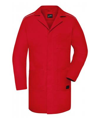 Unisex Work Coat - SOLID - Red 8735