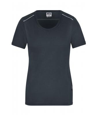 Damen Ladies' Workwear T-Shirt - SOLID - Carbon 8711