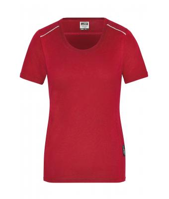 Damen Ladies' Workwear T-Shirt - SOLID - Red 8711