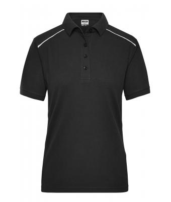 Ladies Ladies' Workwear Polo - SOLID - Black 8709
