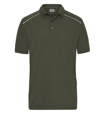 Herren Men's  Workwear Polo - SOLID - Olive 8710