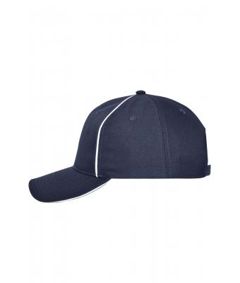 Unisex 6 Panel Workwear Cap - SOLID - Navy 10223