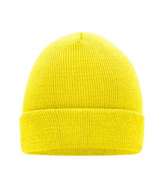 Unisex Knitted Cap Yellow 7797